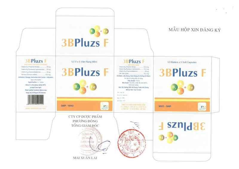 thông tin, cách dùng, giá thuốc 3Bpluzs F - ảnh 2