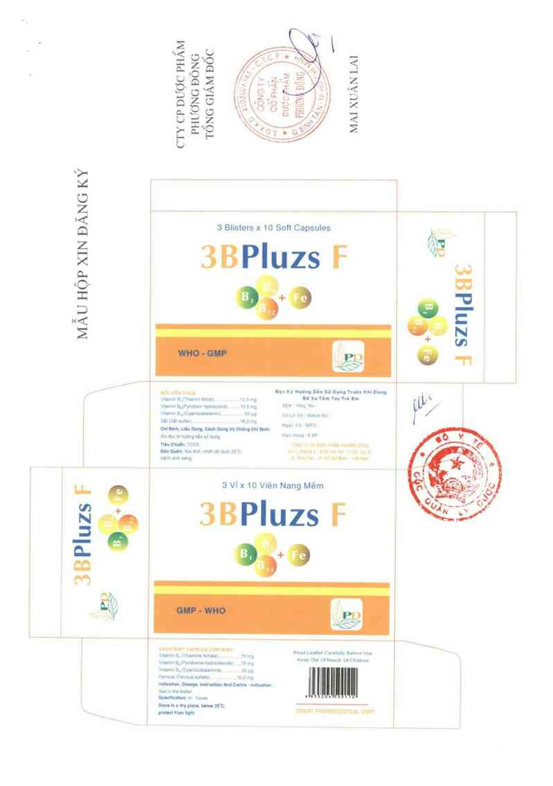 thông tin, cách dùng, giá thuốc 3Bpluzs F - ảnh 4