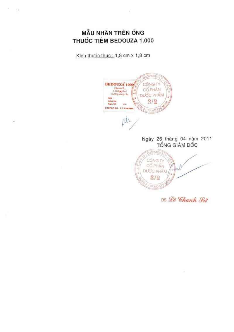 thông tin, cách dùng, giá thuốc Bedouza 1000 - ảnh 1