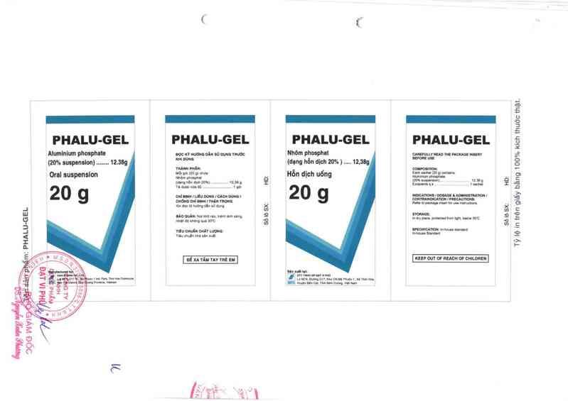 thông tin, cách dùng, giá thuốc Phalu gel - ảnh 1