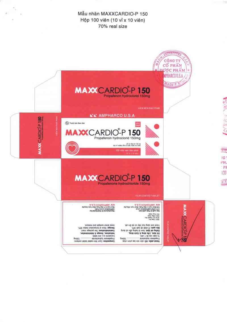 thông tin, cách dùng, giá thuốc Maxxcardio - p 150 - ảnh 2