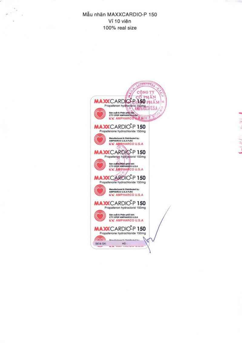 thông tin, cách dùng, giá thuốc Maxxcardio - p 150 - ảnh 3