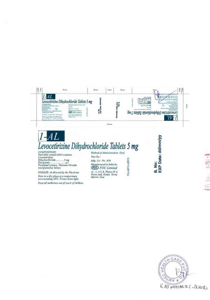 thông tin, cách dùng, giá thuốc 1-AL - ảnh 1