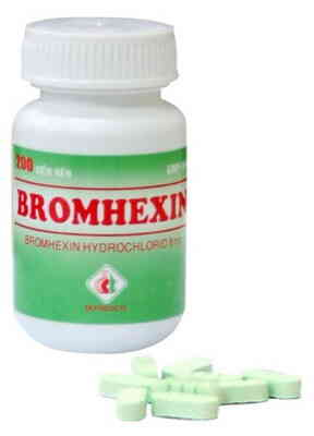 Bromhexin 8 mg