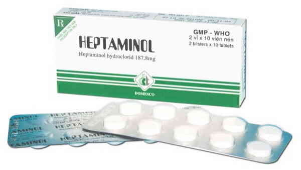 Heptaminol 187,8mg