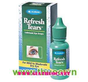 Refresh Tears Lubricant eye drops-0,5%