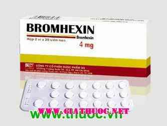 Bromhexin 4mg