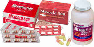 Mexcold 500mg